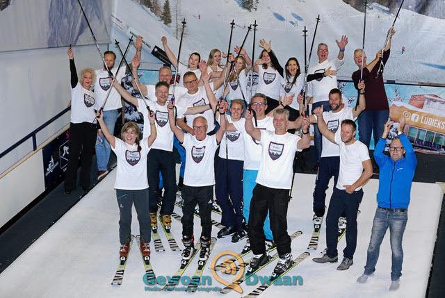 21-10-2017: Skien: Skimarathon voor Charity4BrainsFoto: Douwe Bijlsma
